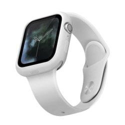 UNIQ Lino Apple Watch sorozat 5/4 40MM fehér védőtok az órára