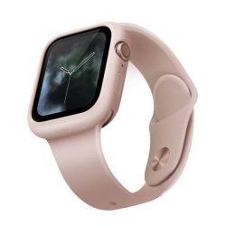 UNIQ telefontok Lino Apple Watch sorozat 5/4 40MM pink / rózsaszín pír telefontok hátlap tok