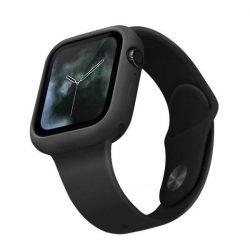 UNIQ telefontok Lino Apple Watch sorozat 5/4 44MM fekete / fekete kőris telefontok hátlap tok