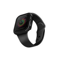 UNIQ telefontok Valencia Apple Watch sorozat 5/4 44MM szürke / szürke vörös- telefontok hátlap tok