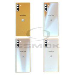 Akkumulátor Telefontok Ház Samsung N970 Galaxy Note 10 Aura Glow Objektívvel Fényképezőgép Gh82-20528c [Eredeti Használt A Osztály]