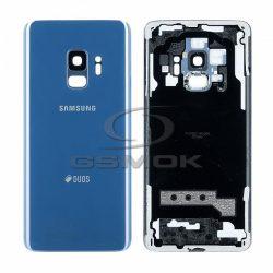 Akumulátor Fedél Samsung G960 Galaxy S9 Kék Kameralencsével Gh82-15875d [Eredeti Használt A Osztály]
