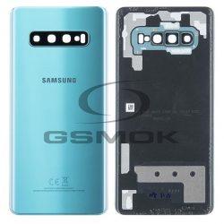 Akumulátor Fedél Samsung G975 Galaxy S10 Plusz Zöld Kameralencsével Gh82-18406e [Eredeti Használt A Osztály]