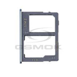 Sim Kártya Tartó Samsung J610 Galaxy J6 Plus Fekete Gh64-07065c [Eredeti]