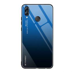 Gradiens Glass tartós edzett üveg tempered glass tempered glass tempered glass lap Huawei P smart 2019 fekete-kék