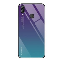 Gradiens Glass tartós edzett üveg tempered glass tempered glass tempered glass lap Huawei P smart 2019 zöld-lila