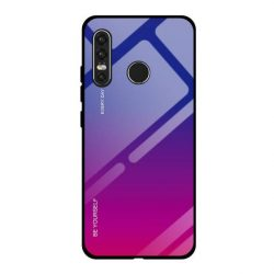 Gradiens Glass tartós edzett üveg tempered glass tempered glass tempered glass lap Huawei P30 Lite rózsaszín-lila