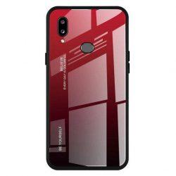 Gradiens Glass tartós edzett üveg tempered glass tempered glass tempered glass lap Samsung Galaxy A20e fekete-piros
