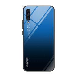 Gradiens Glass tartós edzett üveg tempered glass tempered glass tempered glass lap Samsung Galaxy A50 fekete-kék