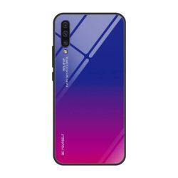 Gradiens Glass tartós edzett üveg tempered glass tempered glass tempered glass lap Samsung Galaxy A50 rózsaszín-lila