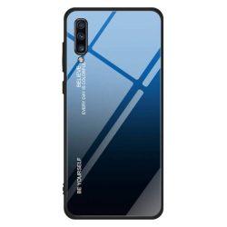 Gradiens Glass tartós edzett üveg tempered glass tempered glass tempered glass lap Samsung Galaxy A70 fekete-kék