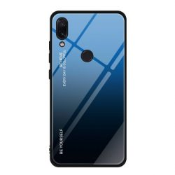 Gradiens Glass tartós edzett üveg tempered glass tempered glass tempered glass lap Xiaomi redmi Note 7 fekete-kék