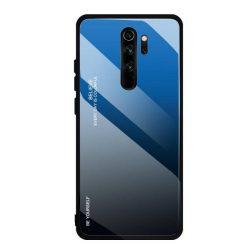 Gradiens Glass tartós edzett üveg tempered glass tempered glass tempered glass lap Xiaomi redmi Note 8 Pro fekete-kék