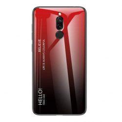 Gradiens Glass tartós edzett üveg tempered glass tempered glass tempered glass lap Xiaomi redmi 8 fekete-piros