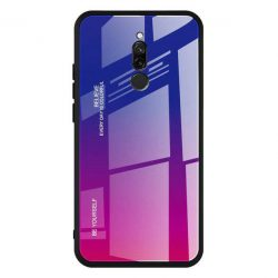 Gradiens Glass tartós edzett üveg tempered glass tempered glass tempered glass lap Xiaomi redmi 8 rózsaszín-lila