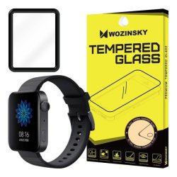 Wozinsky Teljes Glue Film Super Tough képernyővédő fólia teljes képernyős kerettel tok barátságos Xiaomi Watch fekete telefontok hátlap tok