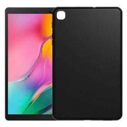 Slim tok ultravékony telefontok Huawei MediaPad M5 Lite fekete telefontok tok