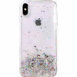 Wozinsky Star Glitter Shining tok iPhone XS / iPhone X átlátszó telefontok tok