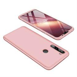 GKK 360 Protection tok Első és hátsó tok az egész testet fedő Xiaomi redmi Note 8T rózsaszín telefontok tok