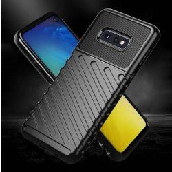 Thunder tok Rugalmas Kemény tok TPU tok Samsung Galaxy S10 Plus zöld telefontok hátlap tok