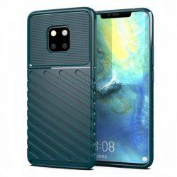 Thunder tok Rugalmas Kemény tok TPU tok Huawei Mate 20 Pro zöld telefontok tok