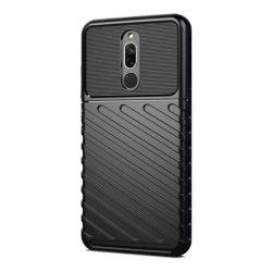 Thunder tok Rugalmas Kemény tok TPU tok Xiaomi redmi 8 fekete telefontok tok