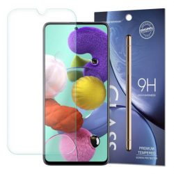edzett üveg tempered glass tempered glass tempered glass 9H képernyővédő fólia Samsung Galaxy A51 (csomagolás - boríték)
