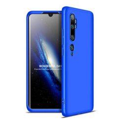 GKK 360 Protection tok Első és hátsó tok az egész testet fedő Xiaomi Mi Note 10 / Mi Note 10 Pro / Mi CC9 Pro kék telefontok hátlap tok