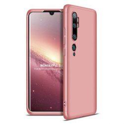 GKK 360 Protection tok Első és hátsó tok az egész testet fedő Xiaomi Mi Note 10 / Mi Note 10 Pro / Mi CC9 Pro rózsaszín telefontok hátlap tok