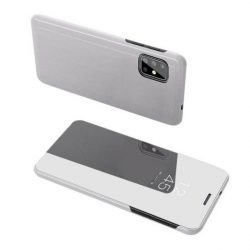 Clear View tok Samsung Galaxy S20 ezüst telefontok tok
