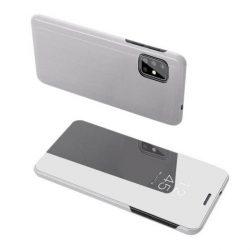 Clear View tok Samsung Galaxy S20 Plus ezüst telefontok hátlap tok