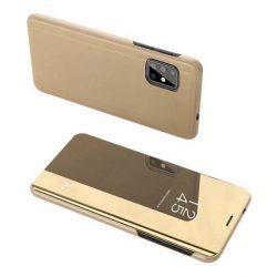 Clear View tok Samsung Galaxy S20 Plus arany telefontok hátlap tok