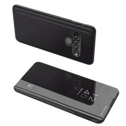 Clear View tok LG K50S fekete telefontok tok