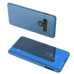 Clear View tok LG K50S kék telefontok tok