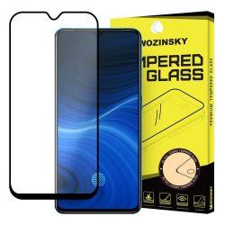 Wozinsky edzett üveg tempered glass tempered glass tempered glass FullGlue Super Tough képernyővédő fólia teljes képernyős kerettel tok barátságos Realme X2 Pro fekete telefontok hátlap tok