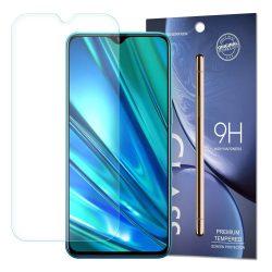 edzett üveg tempered glass tempered glass tempered glass 9H Képernyővédő fólia Realme 5 Pro (csomagolás - boríték)