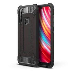 Hibrid Armor tok Kemény telefontok Xiaomi redmi Note 8T fekete telefontok hátlap tok
