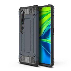 Hibrid Armor tok Kemény telefontok Xiaomi Mi Note 10 / Mi Note 10 Pro / Mi CC9 Pro kék telefontok hátlap tok