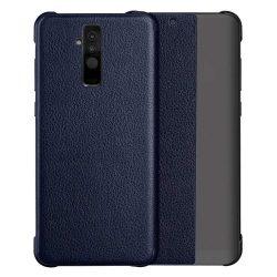Sleep tok flipes típusú tok Smart Window Huawei Mate 20 Lite blue