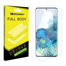 Wozinsky Full Body önjavító 360 ° teljes képernyős képernyővédő fólia fólia Samsung Galaxy S20 + (S20 Plus) telefon védőfólia