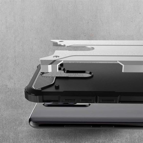 Hibrid Armor tok Kemény Robusztus Cover OPPO A9 (2020) / Oppo A5 (2020) fekete
