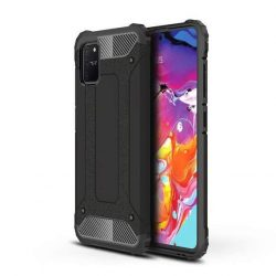 Hibrid Armor tok Kemény Robusztus Cover Samsung Galaxy S10 Lite fekete