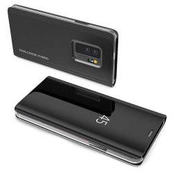Clear View tok Samsung Galaxy Note 9 fekete (Challenge Hybrid logo)