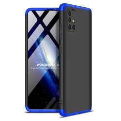 GKK 360 Protection tok Első és hátsó tok az egész testet fedő Samsung Galaxy A51 fekete-kék
