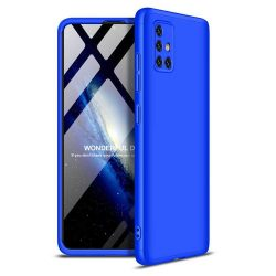 GKK 360 Protection tok Első és hátsó tok az egész testet fedő Samsung Galaxy A51 kék