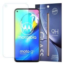 Edzett üveg 9H képernyővédő fólia Motorola Moto G8 Teljesítmény (csomagolás - boríték)