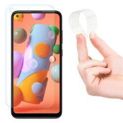 Wozinsky Nano Flexi Glass hibrid Screen Protector edzett üveg Samsung Galaxy A11