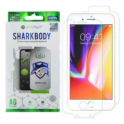 Shark Full Body Film antibakteriális önjavító 360 fok Teljes képernyős Screen Protector Film iPhone SE 2020 / iPhone 8 / iPhone 7 kijelzőfólia telefonfólia