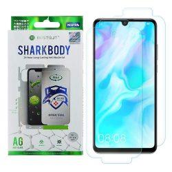 Shark Full Body Film antibakteriális önjavító 360 fok Teljes képernyős Screen Protector Film Huawei P30 Lite kijelzőfólia telefonfólia