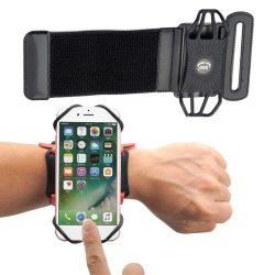 """Univerzális Futó alkar karszalag 6"""" okostelefonok fekete telefontok"""